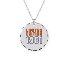 Limited Edition 1981 Necklace