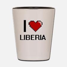 Unique Liberia girl Shot Glass