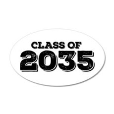 Class of 2035 Wall Decal