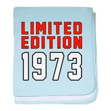 Limited Edition 1973 baby blanket