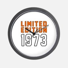 Limited Edition 1973 Wall Clock