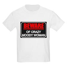 Scott Designs Beware of Crazy Women T-Shirt