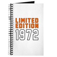 Limited Edition 1972 Journal