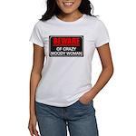 Scott Designs Beware of Crazy Women Women's T-Shir