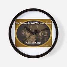 Civilian Corps Wall Clock