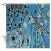 Tribal Lands Shower Curtain