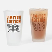 Limited Edition 1968 Drinking Glass