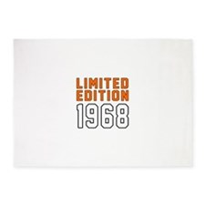 Limited Edition 1968 5'x7'Area Rug