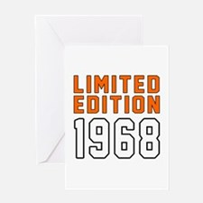 Limited Edition 1968 Greeting Card