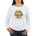 Aizaga Family Crest Women's Long Sleeve T-Shirt