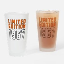 Limited Edition 1967 Drinking Glass