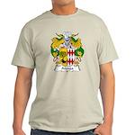 Aizaga Family Crest Light T-Shirt