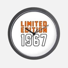 Limited Edition 1967 Wall Clock
