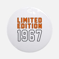 Limited Edition 1967 Round Ornament