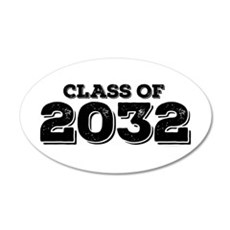 Class of 2032 Wall Decal