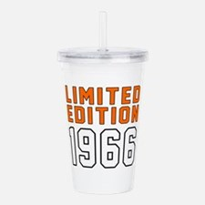 Limited Edition 1966 Acrylic Double-wall Tumbler