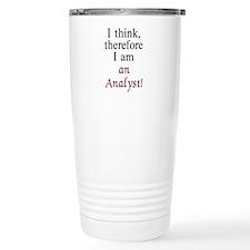 Cute Analyst Travel Mug