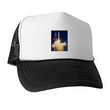 Launch of Apollo's Saturn 1B Rocket Trucker Hat