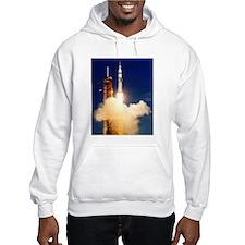 Launch of Apollo's Saturn 1B Rocket Hoodie
