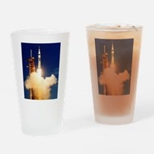 Launch of Apollo's Saturn 1B Rocket Drinking Glass