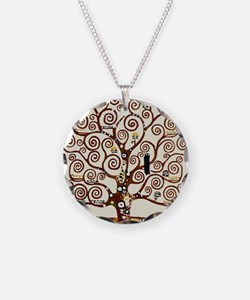 Klimt tree of life Necklace