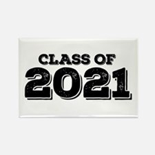 Class of 2021 Rectangle Magnet
