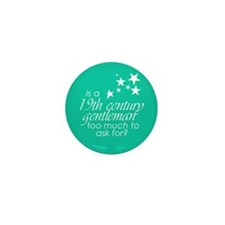 19th C. Gentleman Mini Button (10 pack)