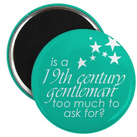 "19th C. Gentleman 2.25"" Magnet (10 pack)"
