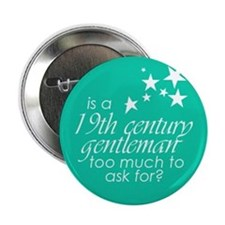 19th Century Gentleman Button