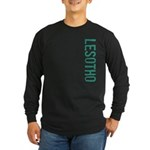 Lesotho Long Sleeve Dark T-Shirt