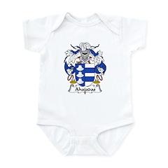 Ahajadas Family Crest Infant Bodysuit