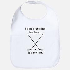 Hockey Its My Life Bib