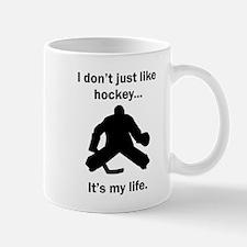 Hockey Its My Life Mugs