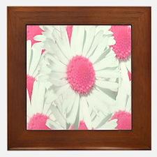 Gerber daisy Framed Tile