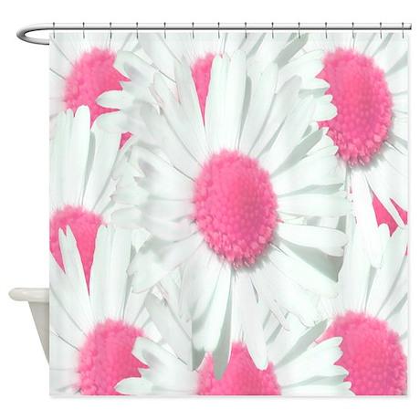 Unique Daisy Shower Curtain