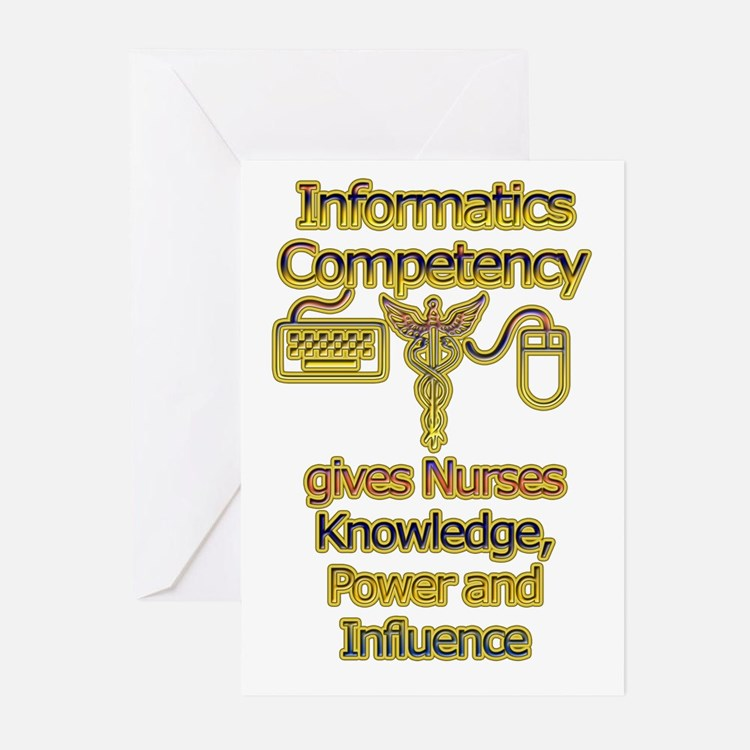 Informatics Competency Greeting Cards (Pk of 10)