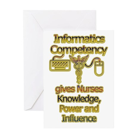 Informatics Competency Greeting Card