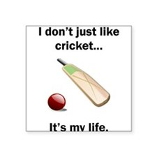 Cricket Its My Life Sticker