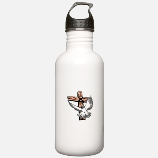 CROSS AND DOVE Water Bottle