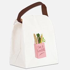 Im A Foodie Canvas Lunch Bag