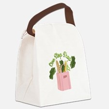 One Stop Shop Canvas Lunch Bag