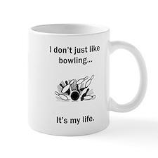 Bowling Its My Life Mugs