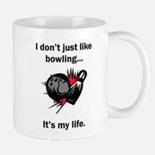 Bowling Its My Life Mugs