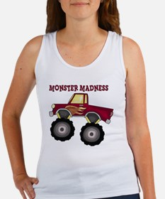 Monster Truck Madness Women's Tank Top