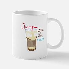 Java On Rocks Mugs