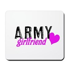 Army girlfriend Mousepad