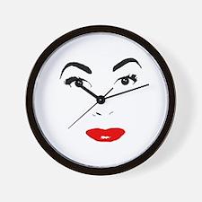 Cute Joan Wall Clock