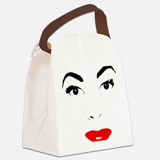 Cute Crawford Canvas Lunch Bag