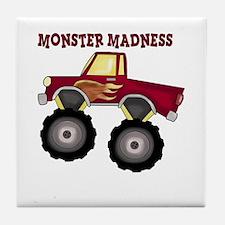 Monster Truck Madness Tile Coaster