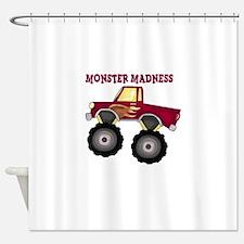 Monster Truck Madness Shower Curtain